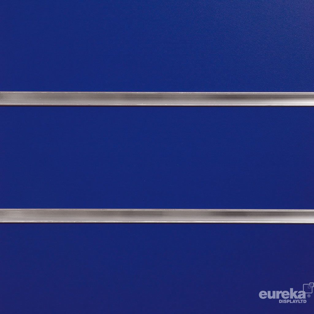 Blue Slatwall Panel  RAL 5002