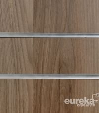 Light Walnut Slatwall Panel