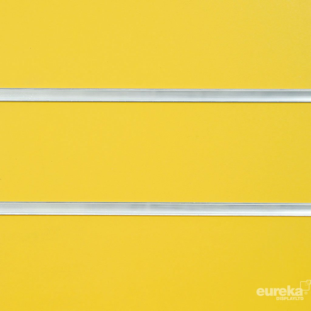 Yellow Slatwall Panel  RAL 1021