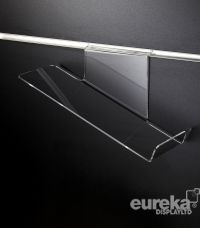 Sloping Shoe Shelf RH