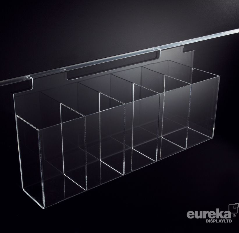 5 Compartment Display Case