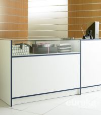 Quarter Glass Combination Counter